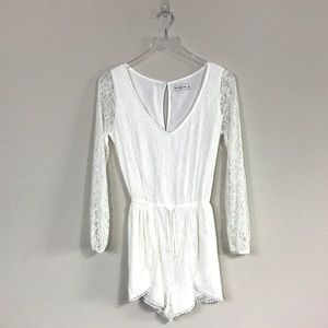 Abercrombie & Fitch | Lace Romper